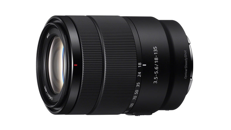 E 18-135mm F3.5-5.6 OSS APS-C Zoom Lens