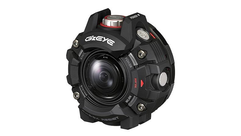 Casio's GZE-1 action cam