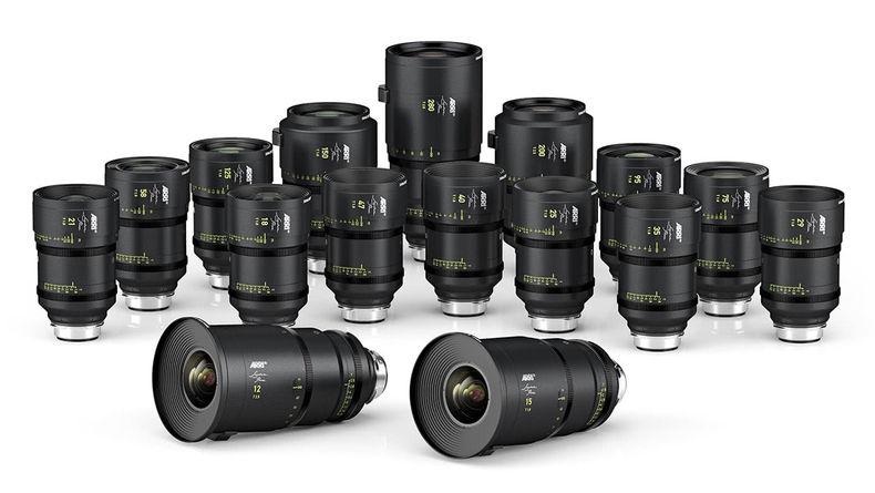 16 new large-format prime cinema lenses from ARRI