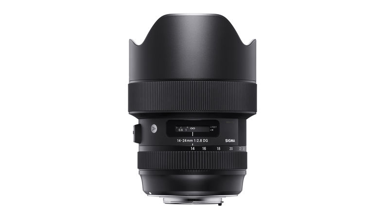Sigma 14-24mm f/2.8 Art wide-angle zoom lens