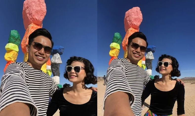 An original iPhone camera picture versus a wide-angle lens iPhone picture