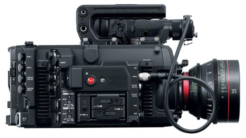 EOS C700 FF side shot