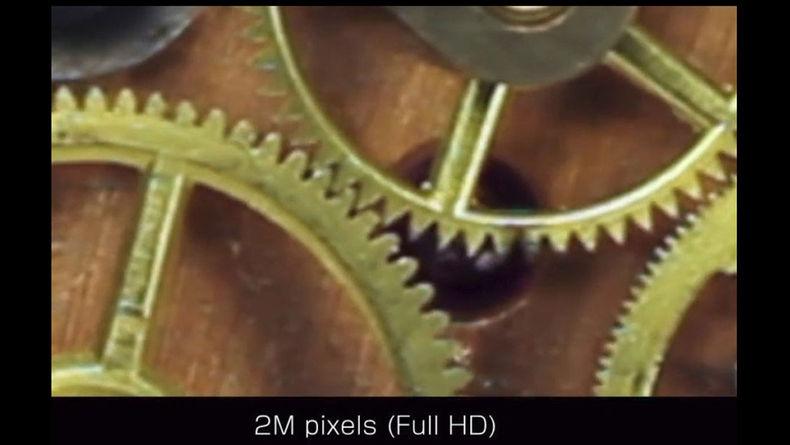 Shot of watch gears in Full HD