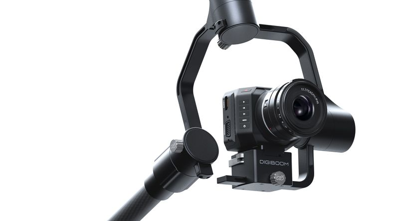 Redrock Mirco DigiBoom with Blackmagic Camera