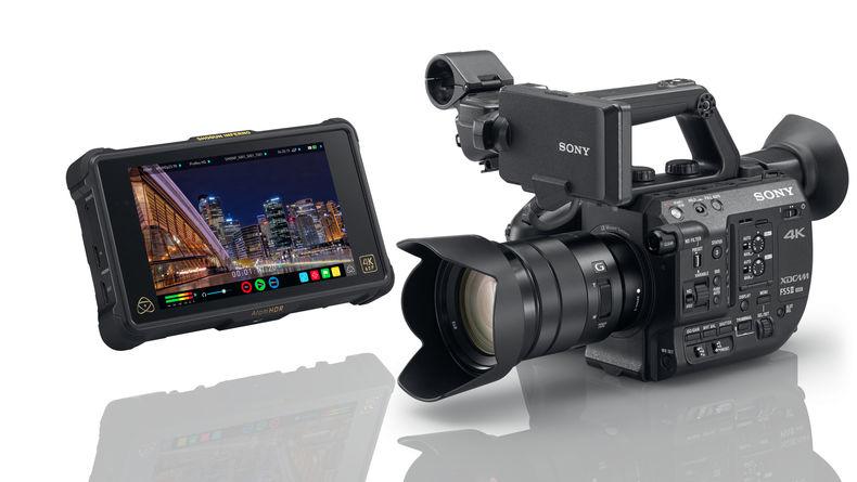 Sony PXW-FS5 II with Atomos Recorder