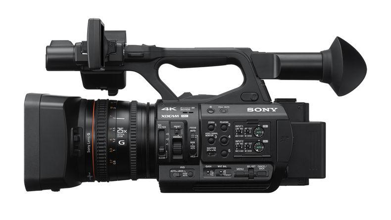 PXW-Z190 side shot