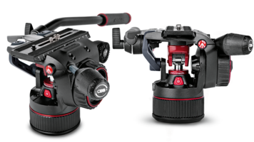 Manfrotto Creates a Tripod Head Powered by Nitrogen
