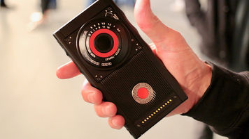 RED's Hydrogen One being held