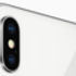 Close shot of the iPhone X