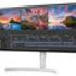 LG's 34WK95U monitor shot at an angle