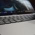 Close shot of a laptop