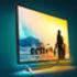 Philips Momentum 436M6VBPAB 4K HDR with an aqua background