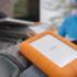 LaCie Rugged RAID Pro 4TB in use