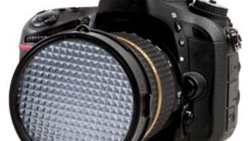 White balance filter for DSLR videography