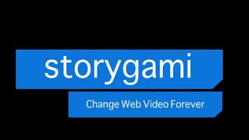 Storygami logo - interactive video through HTML5