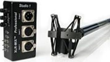 Studio 1 XLR-MIX Pro, Guy Graphics GG-14 and Audio Technica AT8410a Review