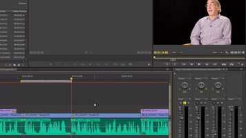 editing software with audio controls