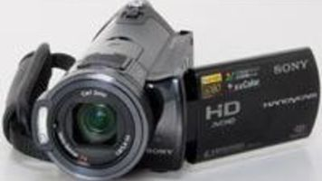 sony handycam hdr cx7 avchd camcorder review videomaker rh videomaker com Samsung Camcorder Sony Full HD Camcorder