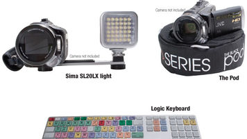 Sima SL20LX light, Logic Keyboard and The Black Pod Review