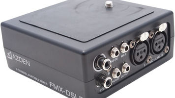 Azden FMX-DSLR Audio Mixer Review