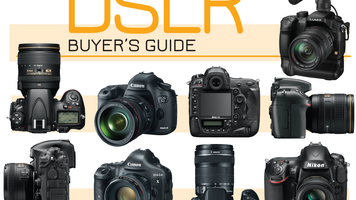 Collection of DSLR cameras