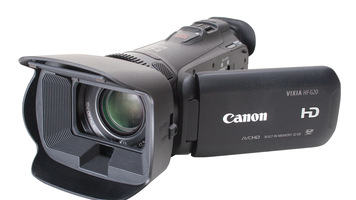 Photo of Canon Vixia HF G20 camcorder