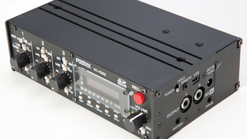 The Fostex DC-R302 helps the DSLR video shooter record better audio.