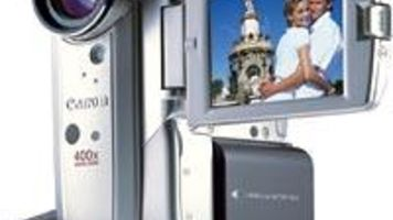 Canon Elura can Record Movies to Memory Cards