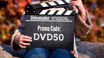 videomaker's 50% off black friday DVD sale