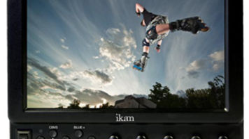 "Videomaker awards ""Best Monitor"" to the VX7e from Ikan Corporation at NAB 2011"