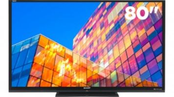 Sharp Reveals Massive 80 inch 4K Touch-Screen Televisions