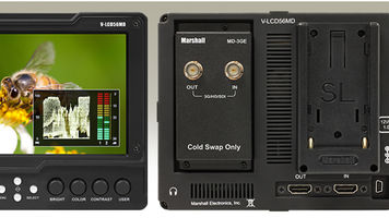 """Marshall Releases 5.6"""" Modular Field Monitor"""