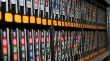 Large Videotape Archive Storage Area