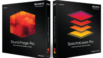 Sound Forge Pro and SpectraLayers Pro Audio Editing Software