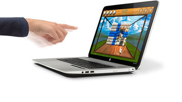 HP Envy 17 with Leap Motion