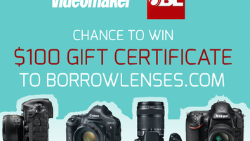 Chance to win $100 gift certificate to BorrowLenses.com