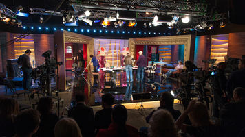 Shutterstock-Shooting TV comedy show