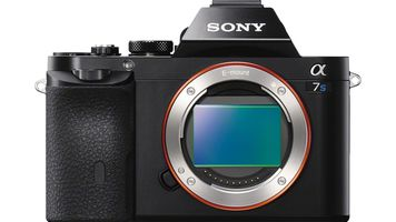 DSLR without lens and exposed sensor