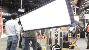 Large LED panel and award
