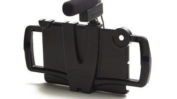 iOgrapher for iPad with optional shotgun microphone
