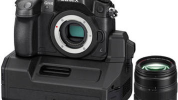 The Panasonic LUMIX DMC-GH4 Kit with YAGH Interface Unit and Kit Lens