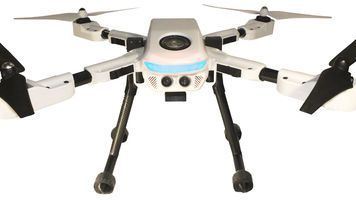 PlexiDrone, ultra-portable aerial camera system