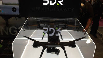 drone in a display case