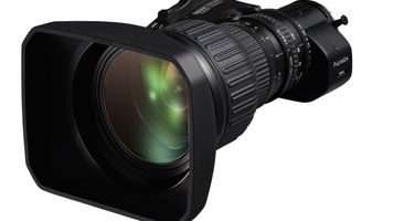 Fujinon's UA22x8 4K UHD lens portable zoom lens