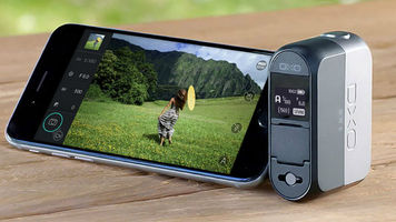 The DxO Camera replaces the iPhone's camera