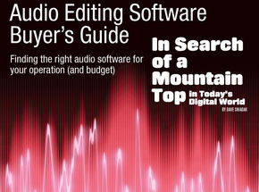Videomaker's Audio Recording Software Buyer's Guide