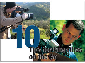 10 Tips for Guerrillas on the Go