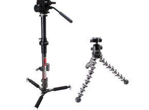 Barber Tech SteddiePod  and Joby Gorillapod Ballhead X  Reviewed
