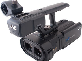 JVC GY-HMZ1U 3D Camcorder  Review