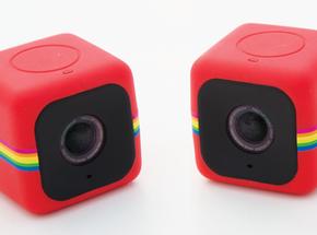Two Polaroid Cubes